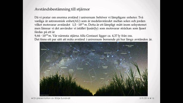 Fysik 2 - Astrofysik del 2 av 6
