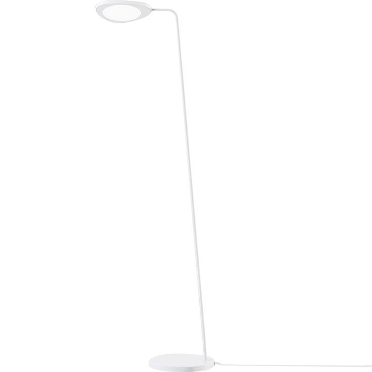 Leaf golvlampa, vit från Muuto – Köp online på Rum21.se