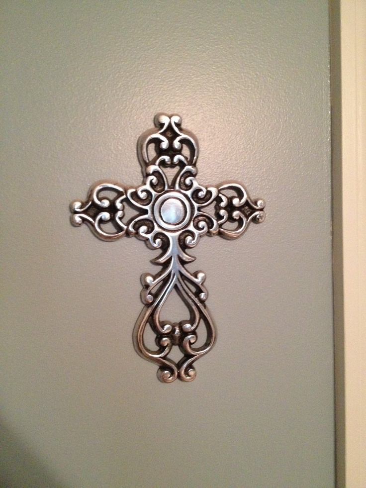 Hobby Lobby Large Metal Wall Decor : Decorative cross from hobby lobby wall art crosses i