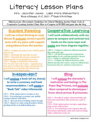 critical thinking lesson plans elementary science This science lesson gives a different way to approach the classroom teaching in a way that is review but at the same time new things are being learned qep: 1,2,3,4 technical performance, research, writing, and critical thinking.