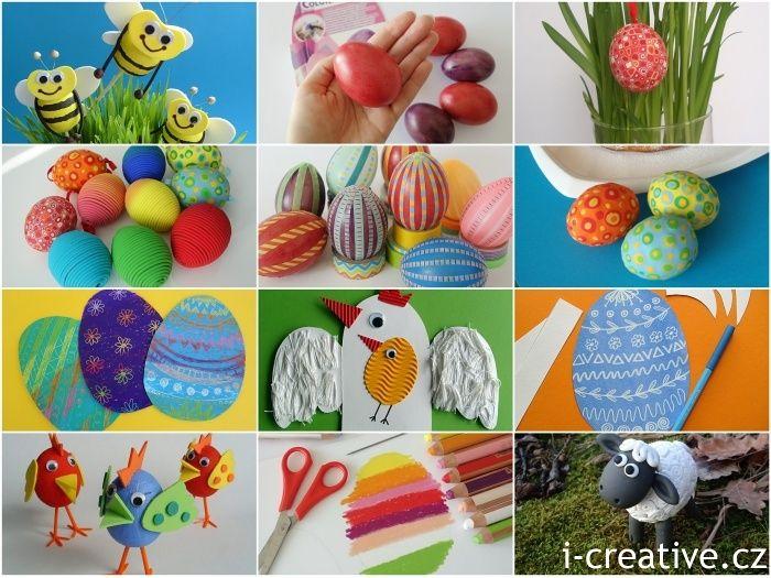 Kreativní tvoření na Velikonoce