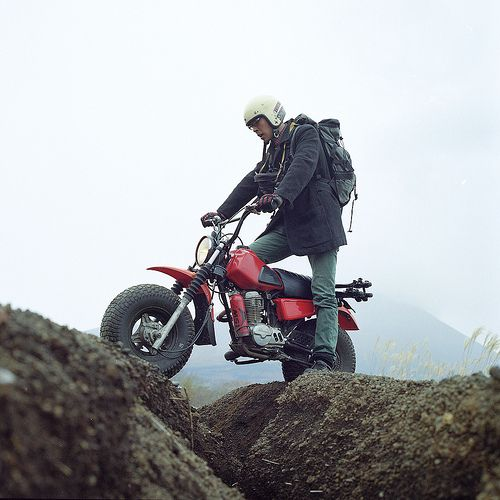 A different kind of Adventure bike.