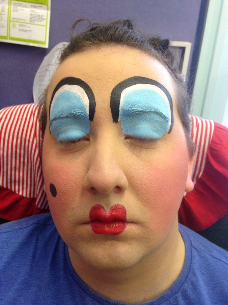Pantomime Dame make up