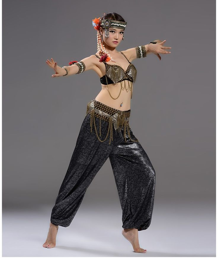 Tribal Belly Dance Tribal Costume top bra & pant US$75