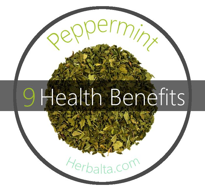 9 Health Benefits of Peppermint Tea! This medicinal herb is considered the most potent, however other mints such as spearmint and Japanese mint have medicinal value as well. Peppermint calms muscle spasms, dries dampness, expels phlegm and clears the head. It is regarded as an excellent treatment for stomach cramps and upset associated with morning sickness, irritable bowel syndrome, indigestion and vomiting. #Peppermint #PeppermintTea #herbalremedies #herbalmedicine #herbaltea #health…