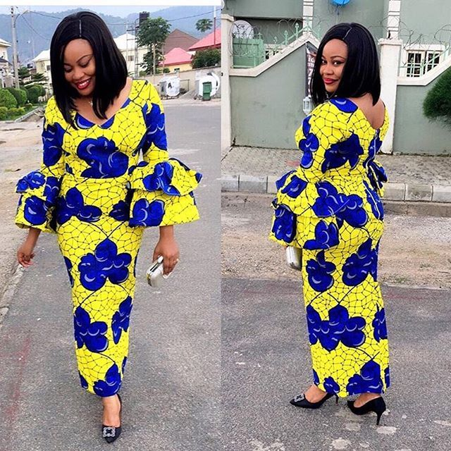 Nigerian Ankara styles   Fashion and Lifestyle Blog  More styles from this link >>> http://toomanystyles.com/ghana-braid-hairstyles/