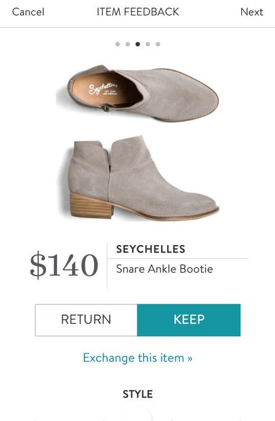SEYCHELLES Snare Ankle Bootie from Stitch Fix. https://www.stitchfix.com/referral/4292370