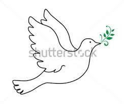 Resultado de imagem para pomba branca desenho