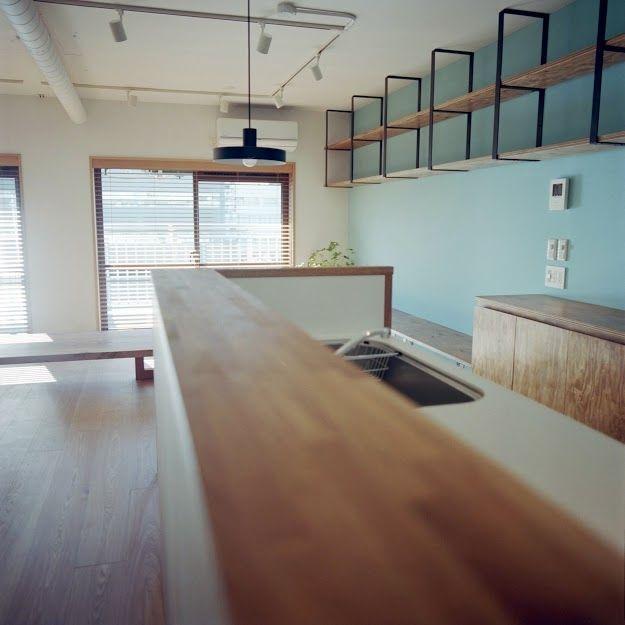キッチン(東陽町リノベーション)- キッチン事例