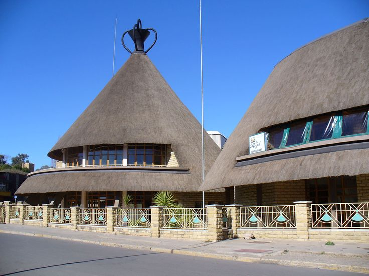 Lesotho-Been to this cool shopping area but part was destroyed in a fire.