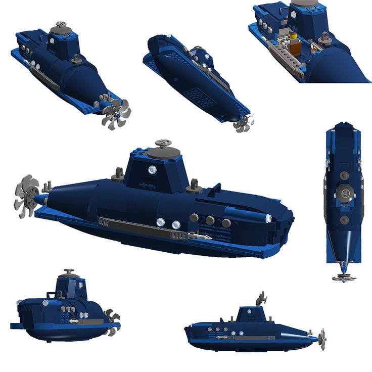 https://flic.kr/p/dVFDXf | Blue Submarine | Support on Cuusoo ! Initially I was building a submarine in real bricks but when I realized I did not have the nescesary parts to accomplish my Idea I deployed Lego Digital Designer. I surprised myself here as I rarely use LDD to make a creation. I posted it on Cuusoo particulary because I would want to buy this myself.