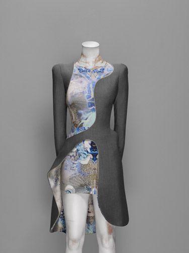 Dress, Plato's Atlantis, spring/summer 2010 | Alexander McQueen: Savage Beauty | The Metropolitan Museum of Art, New York