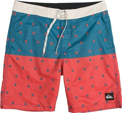 Red, white and blue boardie. http://www.swell.com/New-Arrivals-Mens/QUIKSILVER-OG-PANEL-BOARDSHORT?cs=RE