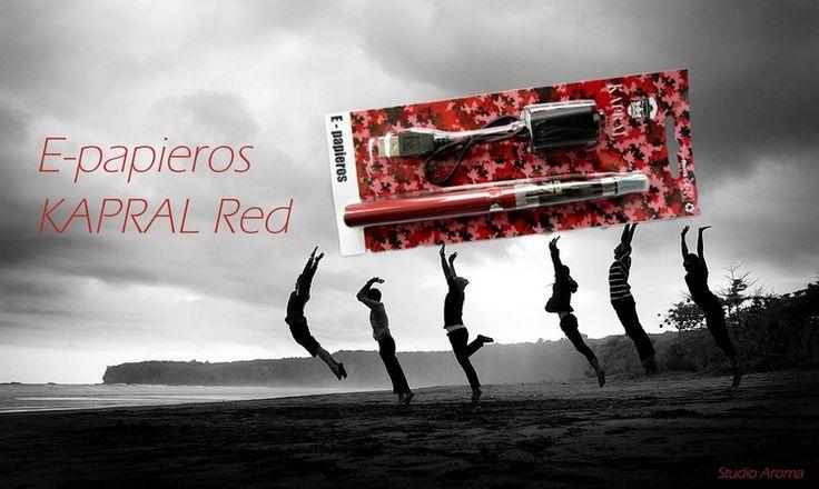 E-papieros KAPRAL Red ☮ ST ☛ http://studioaroma.com.pl/pl/p/E-papieros-KAPRAL-Red/928 ♛