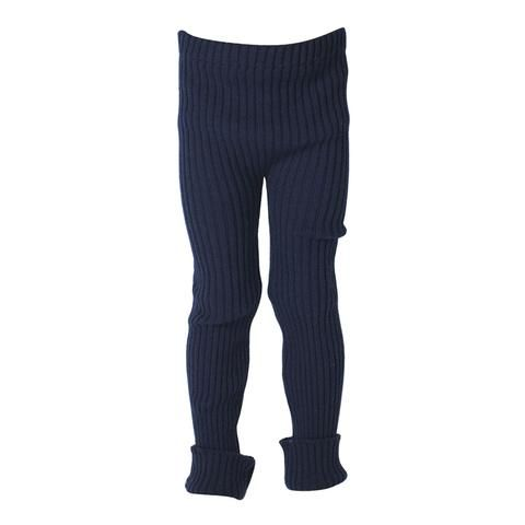 TUBES - Knit Leggings - East River Navy Blue