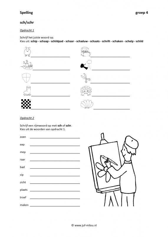 20 beste idee n over 2de leerjaar lezen op pinterest 2de leerjaar spelling grammatica - Werkblad eindigen ...