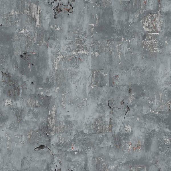 Dutch Wallcoverings Exposed Warehouse oude muur grijs hal?
