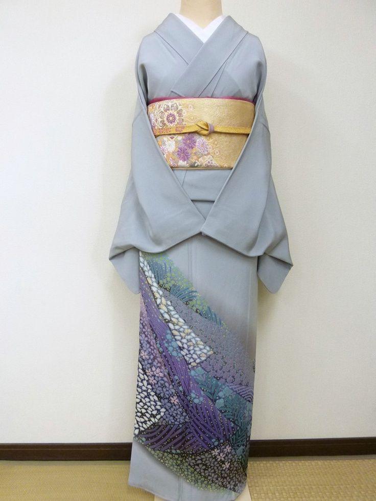 色留袖。両家顔合わせ・結納のときの和服・和装のアイデアまとめ一覧。
