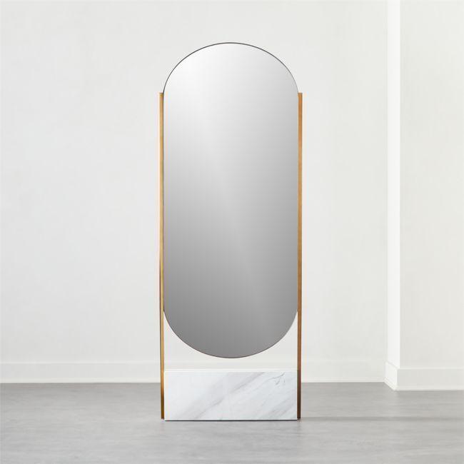 Standing Mirror Modern Floor Mirrors, Free Standing Leaning Mirror