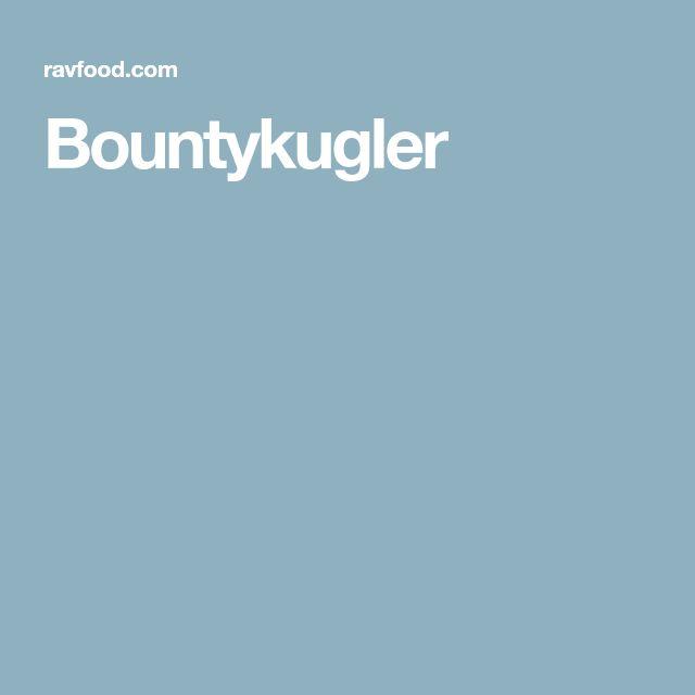 Bountykugler