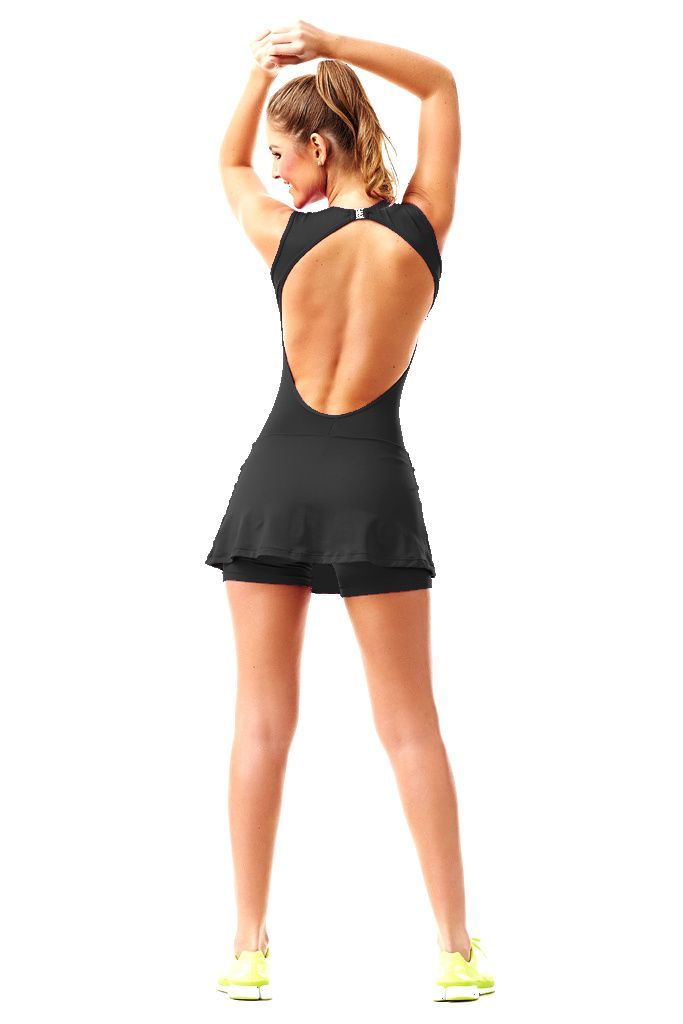 macaquinho-saia-trend-preto-caju-brasil-4103f7200 Dani Banani Moda Fitness