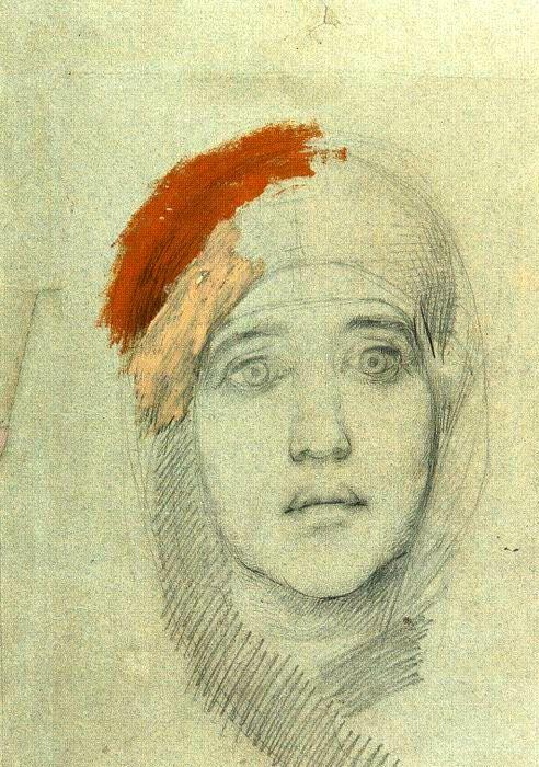 Mikhail_Vrubel_-_Womans_Head_(1885).png (492×700)