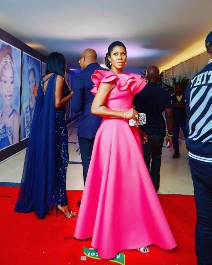 Stephanie Okereke Linus Outfit To MBGN2017