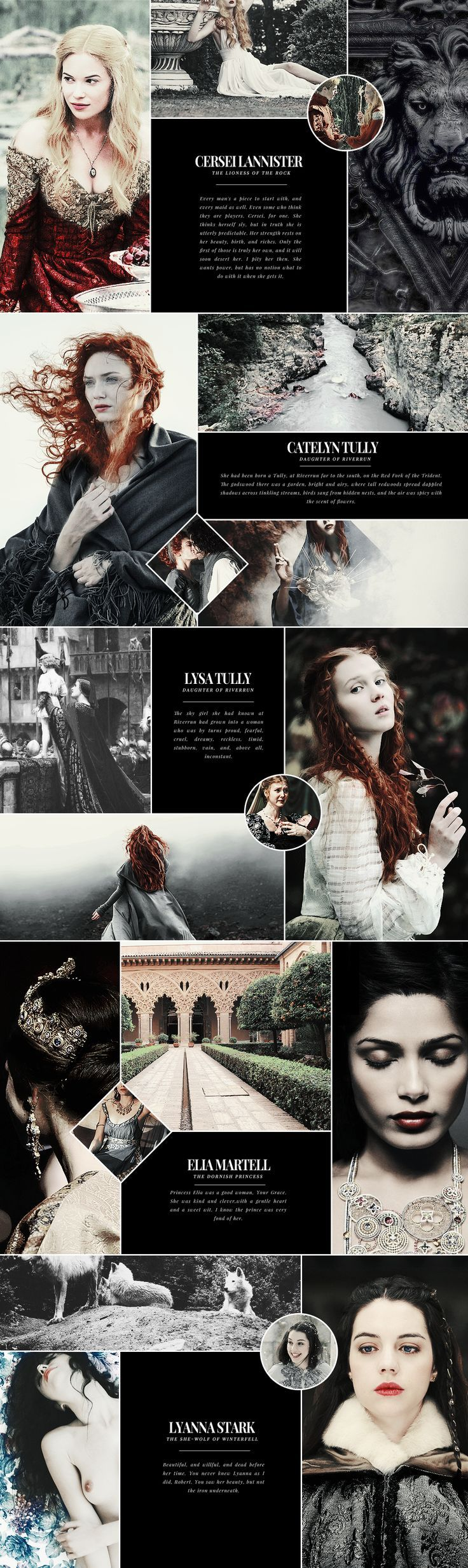 You have courage. Not battle courage perhaps but… I don't know, a kind of woman's courage. #asoiaf: