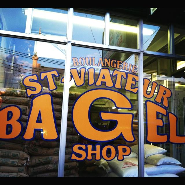 Best bagels in Montreal.