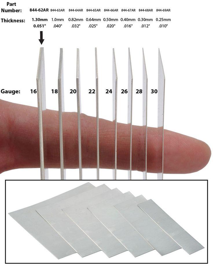 Aluminum Sheet Aluminum Sheet Gage Thickness