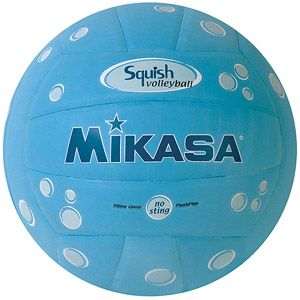 Mikasa Squish VSV101 Outdoor Volleyball, Bubbles