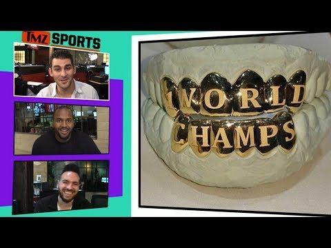Paul Wall Gets The Houston Astro's Custom Grillz I TMZ SPORTS