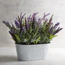 Faux Lavender Arrangement
