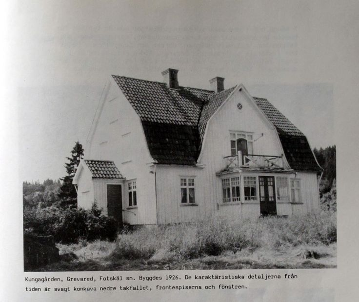 Kungagården i Grevared: K-märkt
