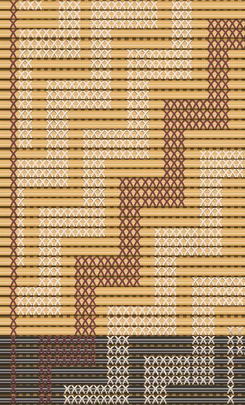 Types of tukutuku designs – Māori weaving and tukutuku – te raranga me te whatu – Te Ara Encyclopedia of New Zealand