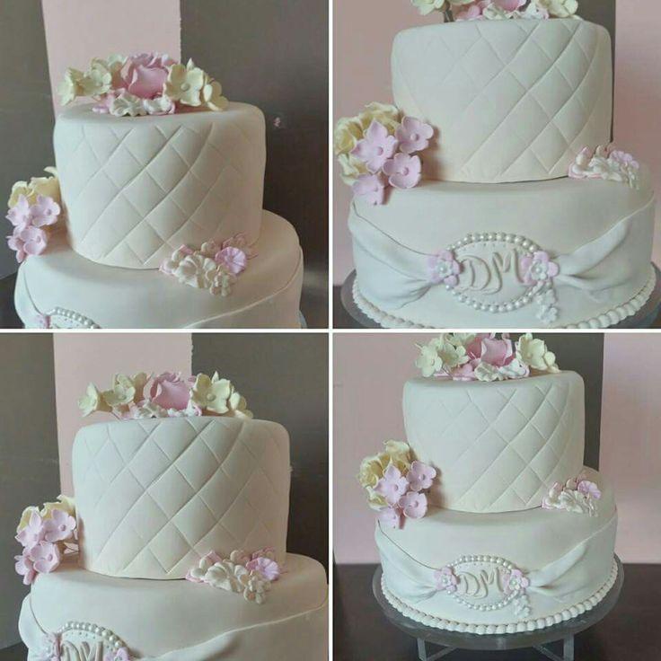 Little romantic wedding cake
