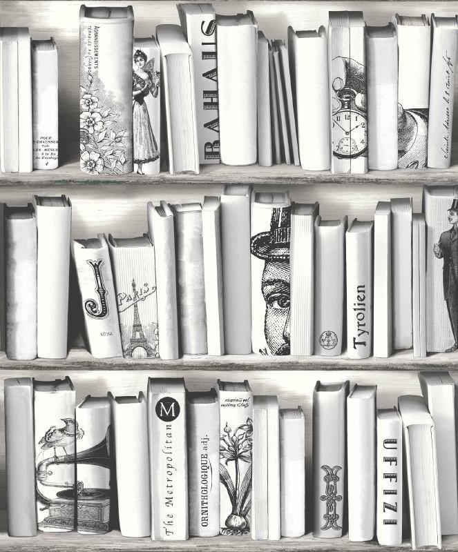 Dutch Kaleidoscope e82209 boeken zwart wit