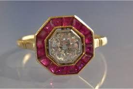 """Résultat de recherche d'images pour """"bagues art deco diamant"""""""