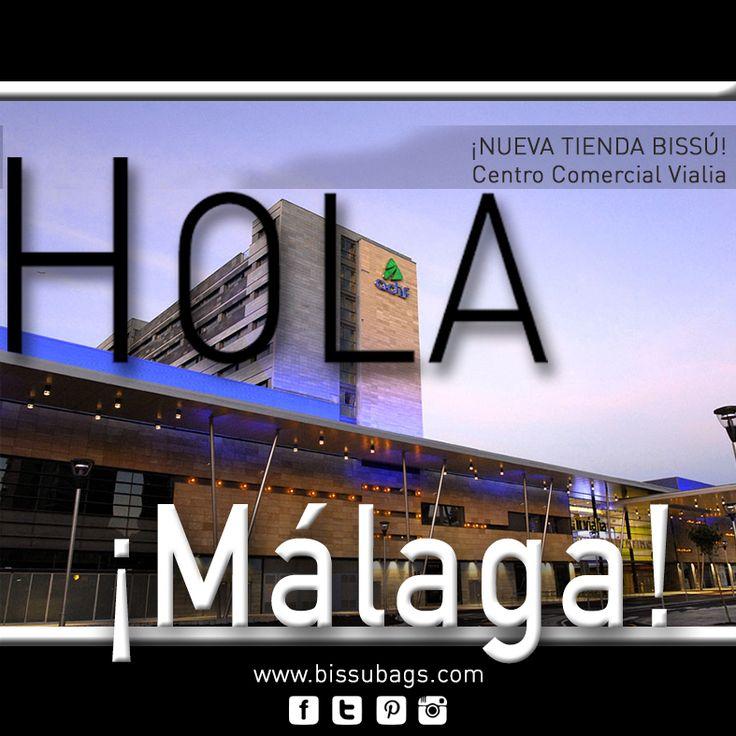 ¡Hola Málaga! Hoy hemos abierto tienda Bissú en Vialia Centro Comercial, ven a visitarnos ¡te esperamos! #málaga #complementos #bolsos #apertura #Bissú