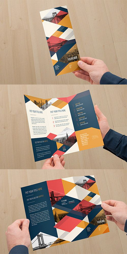 Best  Tri Fold Brochure Design Ideas On   Booklet