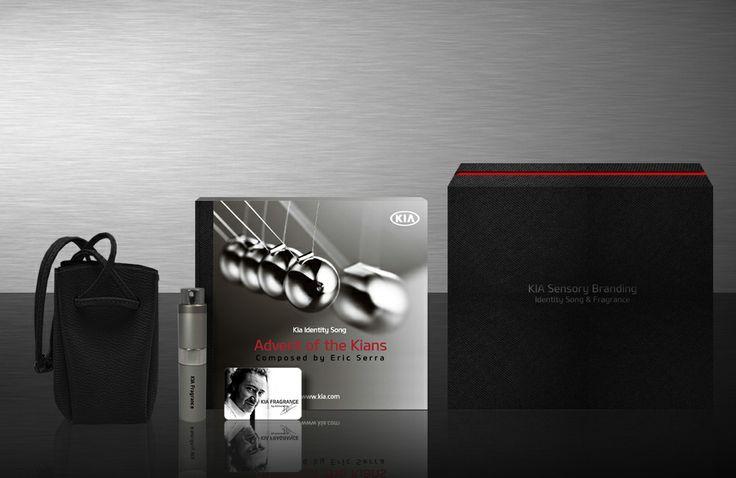 Package : KIA sensory branding box