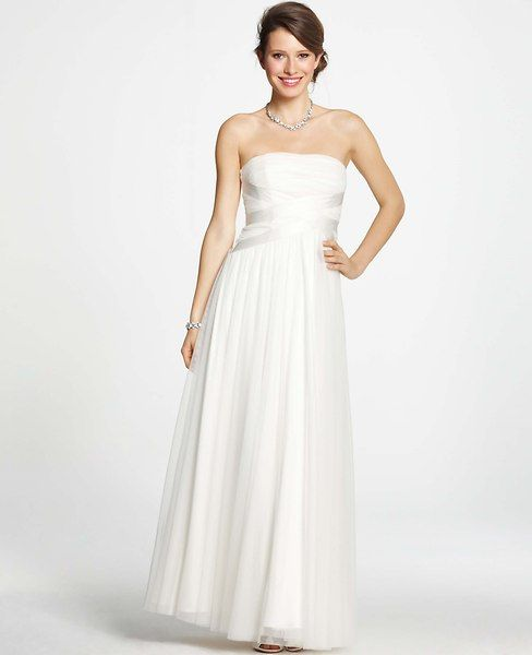 Georgina Tulle Strapless Wedding Dress