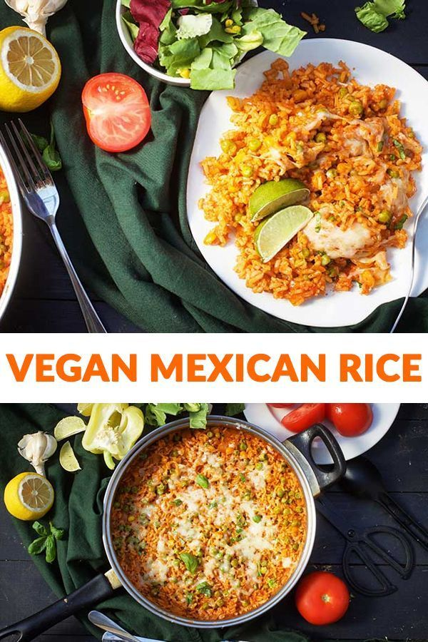 Vegan Mexican Rice Gourmandelle Recipe Vegan Mexican Vegan Side Dishes Recipes