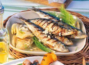 Fenchel-Sardinen vom Grill