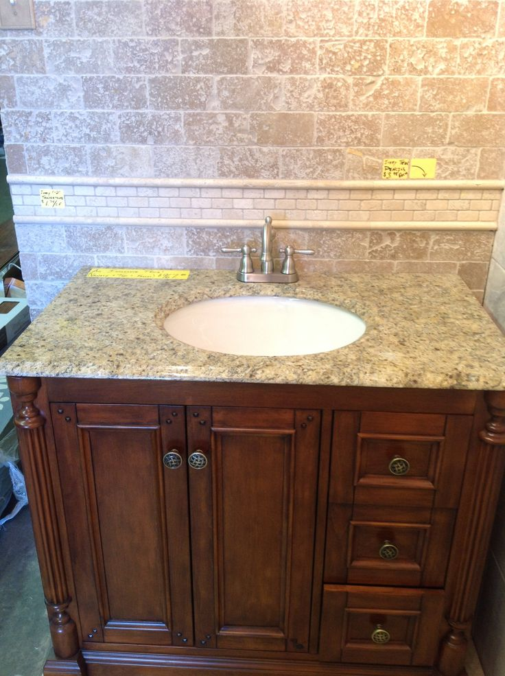 Our walnut ridge vanities are In stock everyday, These ...