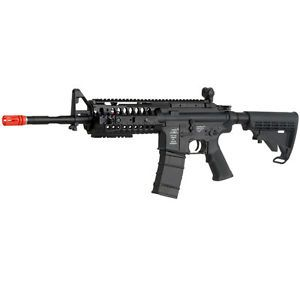 a ics airsoft gun m4 s system full auto electric high fps aeg metal gearbox