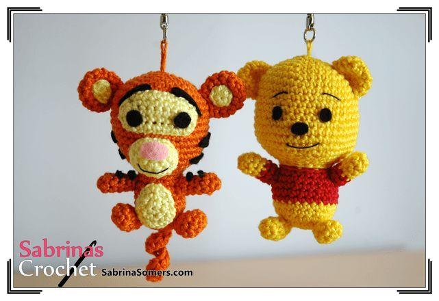 Amigurumi Winnie Pooh Patron Gratis : 17 Best images about Amigurumis Moviles on Pinterest ...