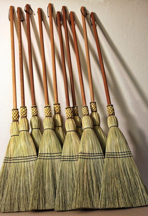 Shaker Floor Broom Hand Made 100 Broom Corn By