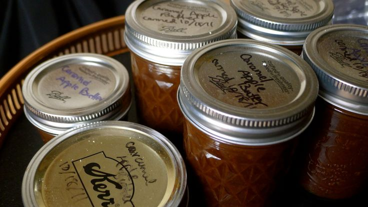 Seriously heavenly sounding salted caramel pear apple butter. I HATE ...