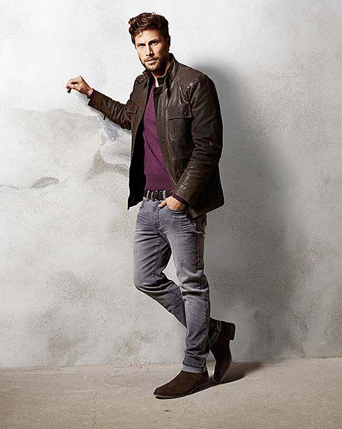 Tej jesieni królują brązy, beże i fiolety - również w modzie męskiej! http://www.tchibo.pl/panowie-jesien-luzna-moda-t400065867.html